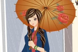 细雨中的女孩小游戏|在线玩2125小游戏|2125的小游戏