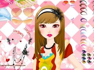 娇艳女孩化妆|娇艳女孩化妆小游戏 www2125